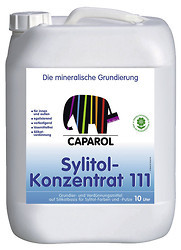 caparol sylitol konzentrat 111 10ltr farben shop. Black Bedroom Furniture Sets. Home Design Ideas