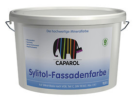 caparol sylitol fassadenfarbe weiss 12 5ltr farben shop. Black Bedroom Furniture Sets. Home Design Ideas