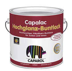 capalac buntlack ral 9010 weiss hochgl nzend 750ml. Black Bedroom Furniture Sets. Home Design Ideas